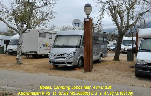 campingplatz joncar mar in roses koordinaten 42 26608 3 16314 1 n chtigung f r 2 personen. Black Bedroom Furniture Sets. Home Design Ideas